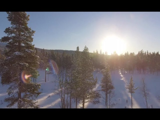 Mitsubishi Eclipse Cross - Iced Lake Drive Norway 2018 (TV footage so zvukom)